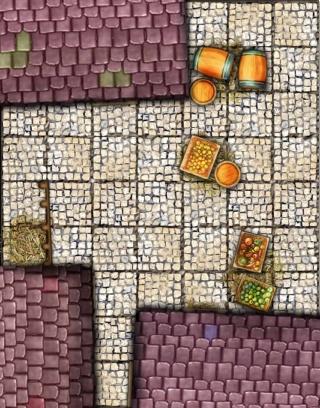 Battlemap - Essais et WIP Grille11