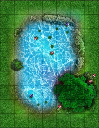 Battlemap - Essais et WIP Lac_de10