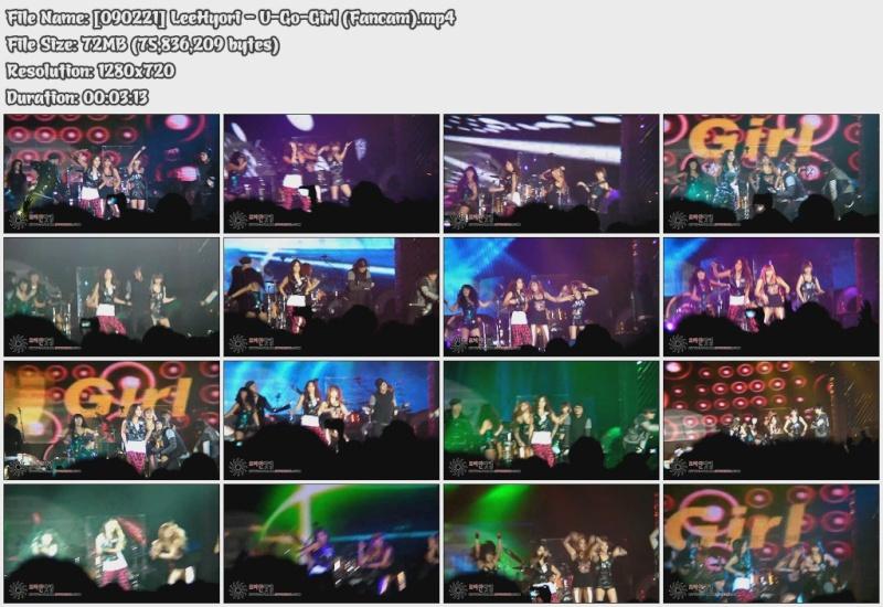 [090221] Hyori - U-Go-Girl (Fancam) [72M/mp4] 09022111