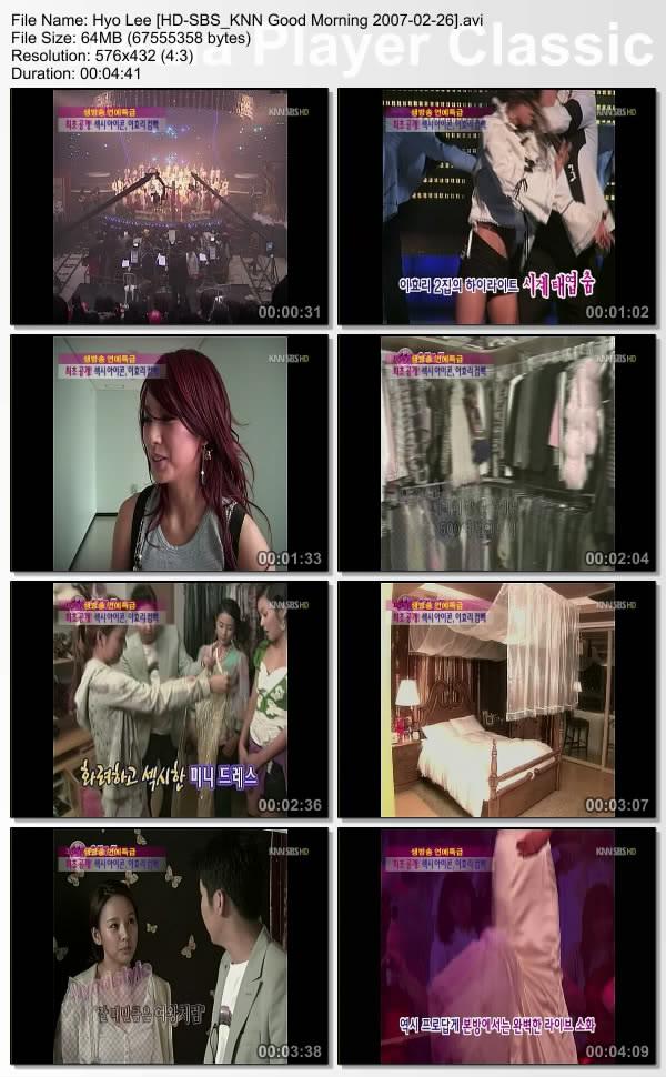 [070223] Hyori - Good morning Section TV Hyolee15