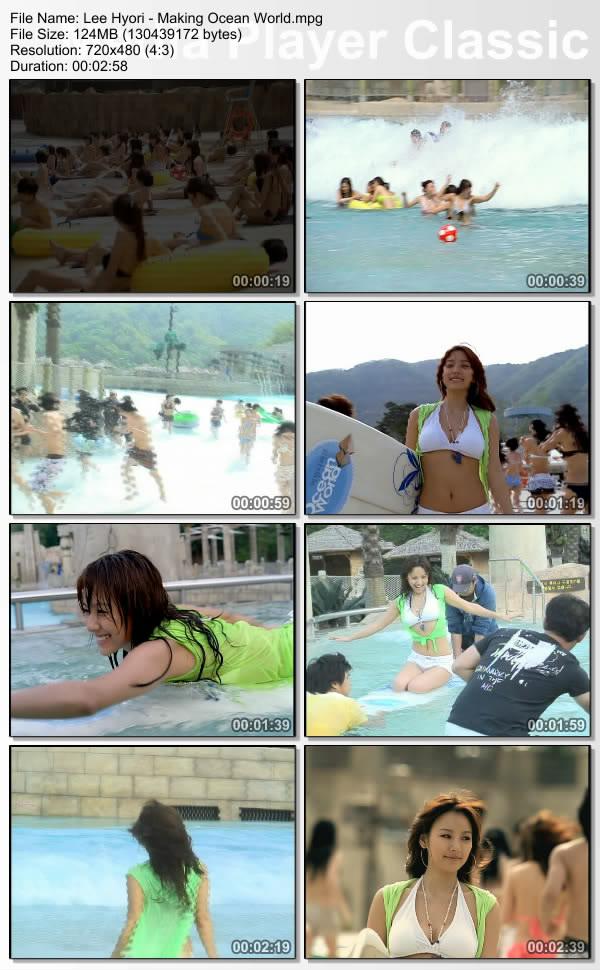[080000] Hyori - Making of Ocean World CF Leehyo36