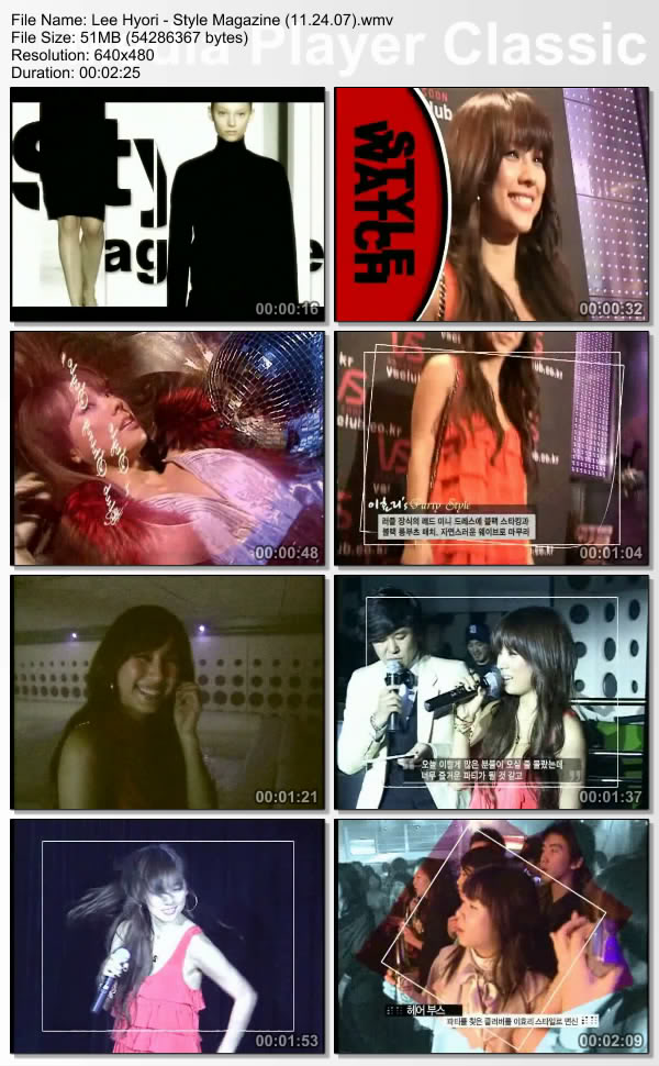 [071124] Hyori - Style Magazine Leehyo58