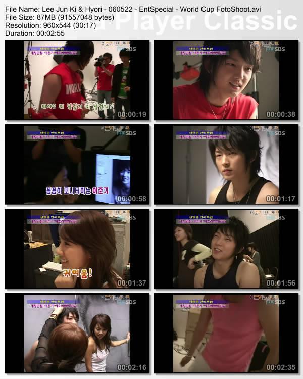 [060522] Hyori & Lee Jun Ki & - World Cup PhotoShoot Leejun10