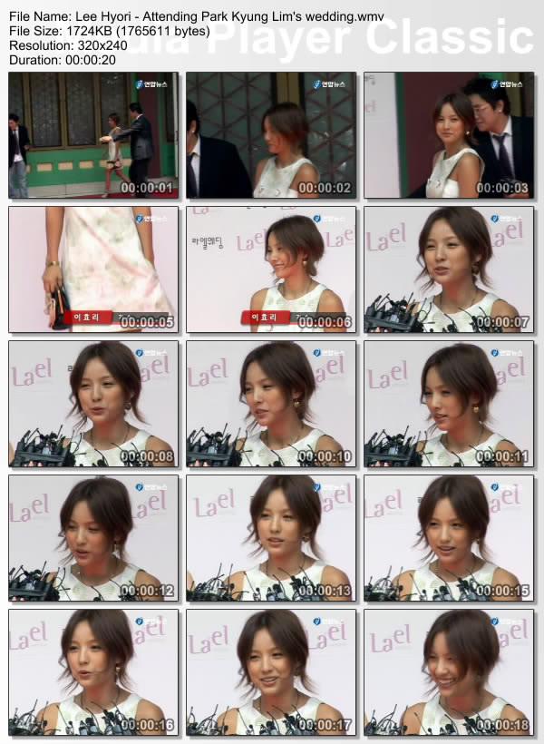 [070715] Hyori - Attending Park Kyung Lim's wedding Weddin10