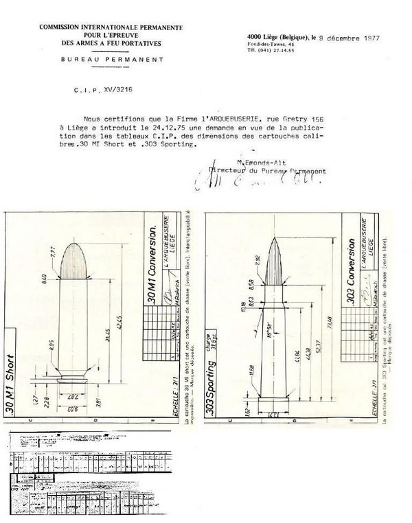 Lee Enfield, calibre étrange? - Page 3 Regist11