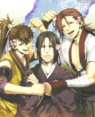 Hakuouki Shinsengumi Kitan [Anime] Kisuki11