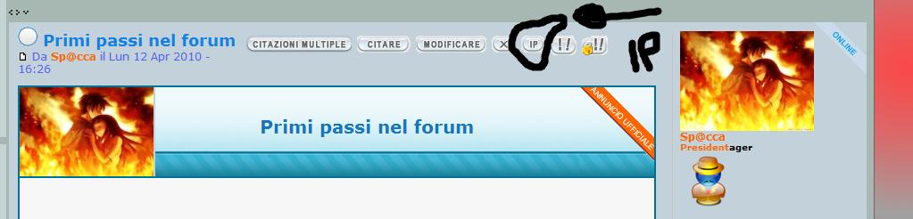 Come faccio a trovare IP di un utente? Ip210