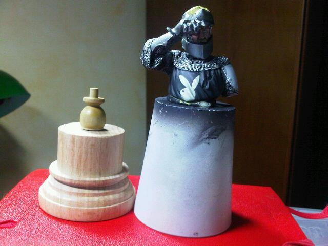 Buste chevalier La Ruota del tempo 90mm Img00616