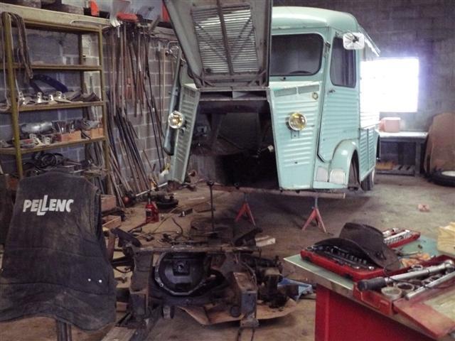 Présentation & Restauration : mon type H de 1952 P1020017