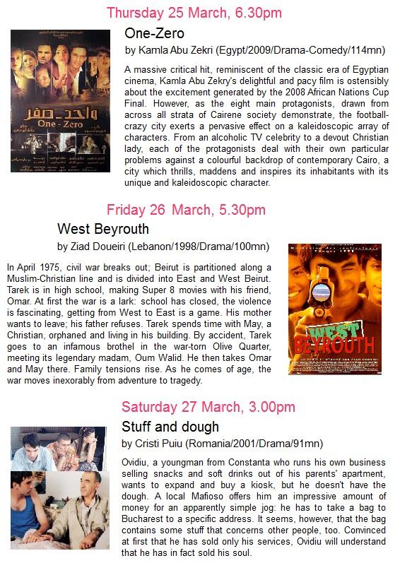 Festival du film pour le mois de la francophonie, 23 au 27 mars, Entry Free @ auditorium AFB Page_210