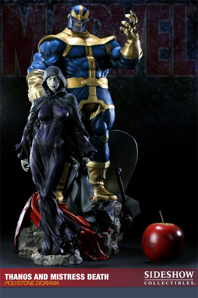 Thanos And Mistress Death 20006610