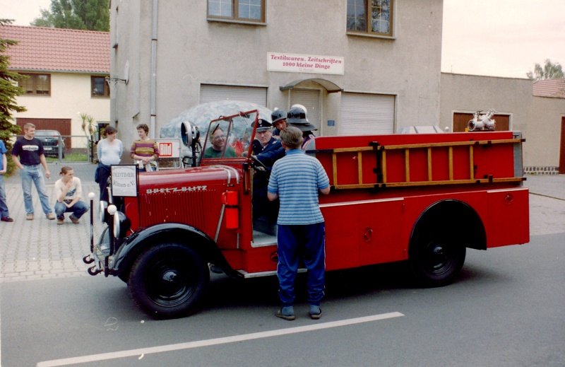 Feuerwehr - Opel Blitz 1936 12-13-16
