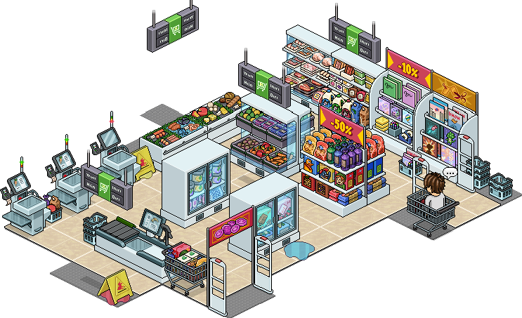 Marzo2020 - [ALL] Reinserito affare stanza Supermercato in catalogo su Habbo! Affare15