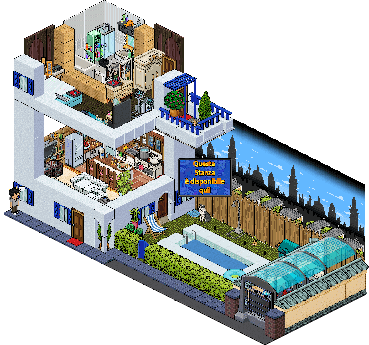 [ALL] Affare stanza Dolce Casa in catalogo su Habbo Affare18