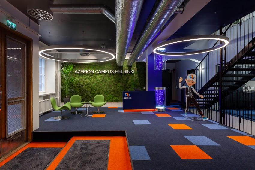 Nuovo campus Azerion aperto ad Helsinki Azerio10