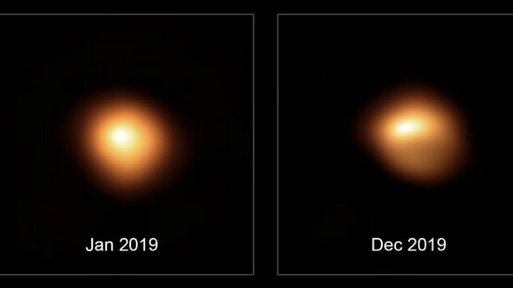 La Stella Betelgeuse si sta per spegnere? Betelg10