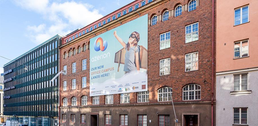 Nuovo campus Azerion aperto ad Helsinki Foto-c10