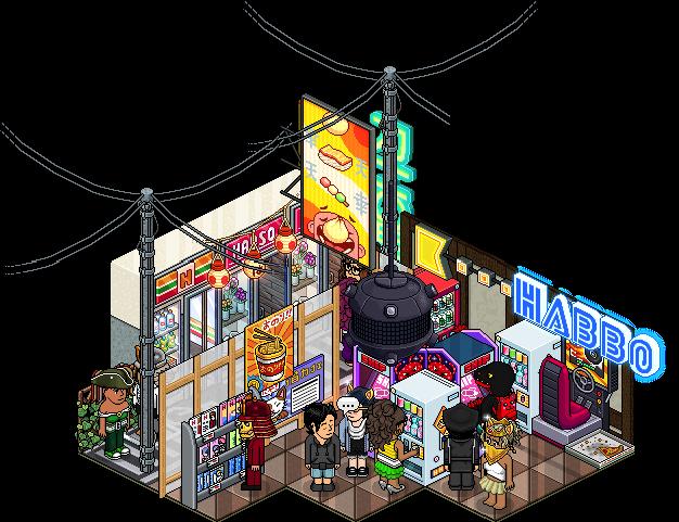 [ALL] Affare Stanza Arcade Tokyo disponibile in catalogo su Habbo! Lote_a10