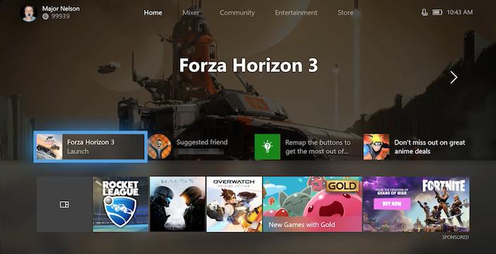 Xbox One, la dashboard sta per essere aggiornata con tante novità! Main_x10