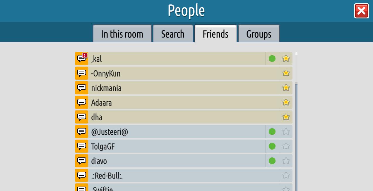 Versione 0.12.0: messaggistica privata, eliminazione gruppi - Pagina 2 Sche1315