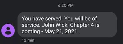 John Wick 4 ci sarà, annunciata la data di uscita del sequel Scher612