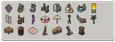 [ALL] Inseriti furni Festival Bohémien in catalogo su Habbo! Scher618