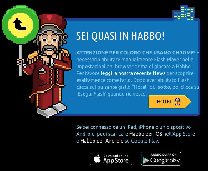 Come abilitare Flash su Google Chrome per Habbo Scher649