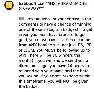 [08/09/2019] Instagram Badge Giveaway su @habboofficial - Pagina 2 Scher687