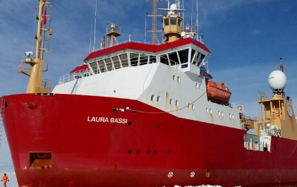 La missione italiana sulla «Laura Bassi», la rompighiaccio tricolore! Scher823