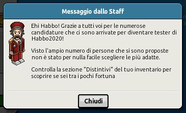 [ES] Solicite como probador para Habbo2020 en Habbo.it Scher906