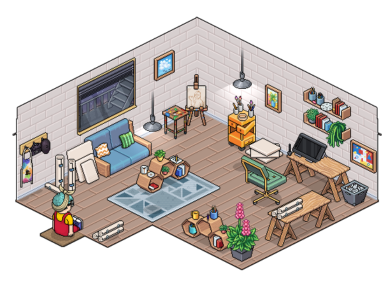 [ALL] Affare stanza Studio dell'Artista in catalogo su Habbo - Pagina 2 Screen34