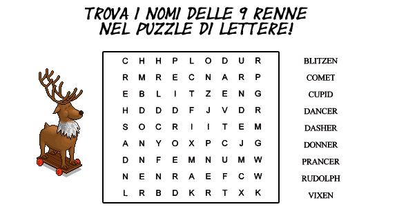 [HLF GAME] Missione Natalizia: CruciPuzzle renne! #3 Sjqzux10