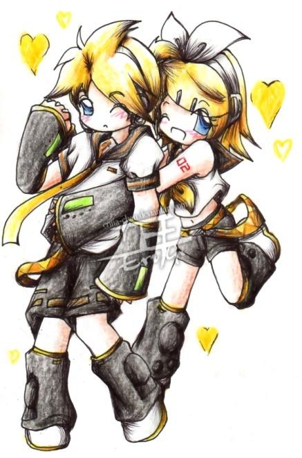 Fã Club dos Kagamine Twins Chibi_10