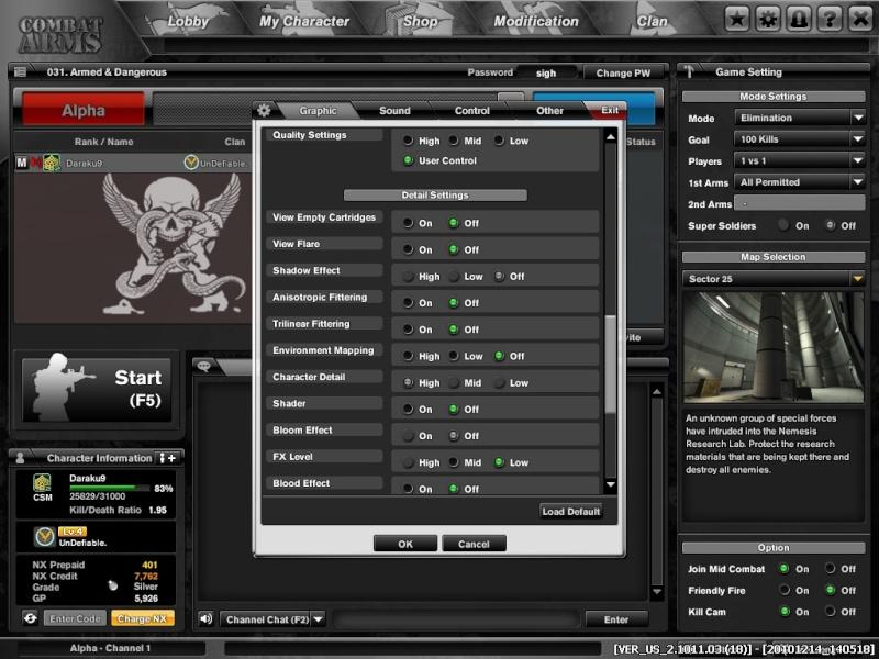 Combat Arms Graphics Settings Combat14