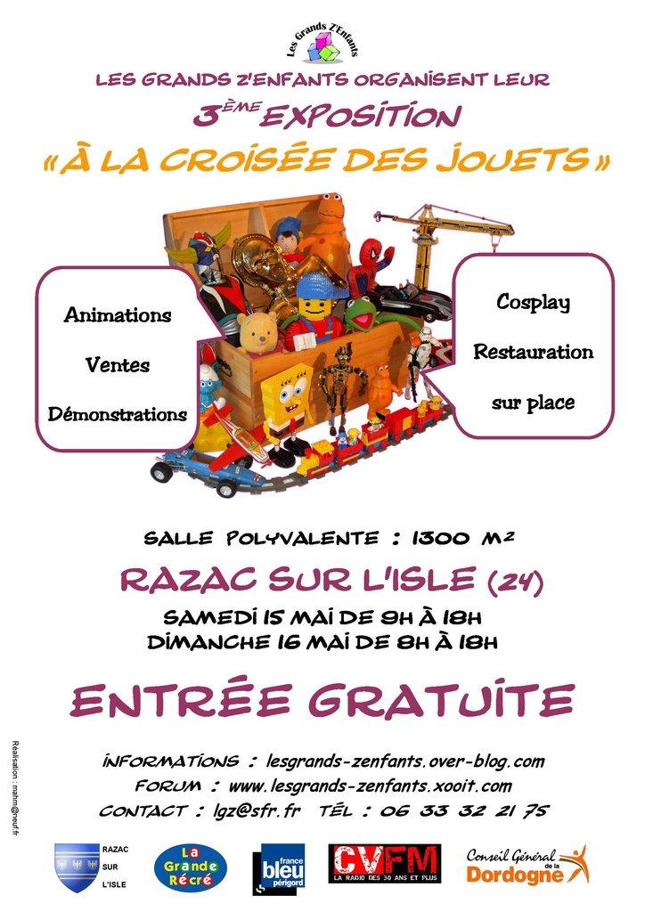 3ème édition du Salon du jouet à Razac sur l'isle en dordogne 2010ra10