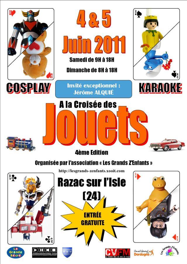4ème salons du jouet les 4 et 5 juin 2011 Affich10