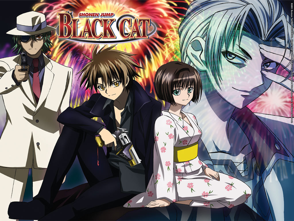 [Recomendacion  Anime] Black cat Blackc11