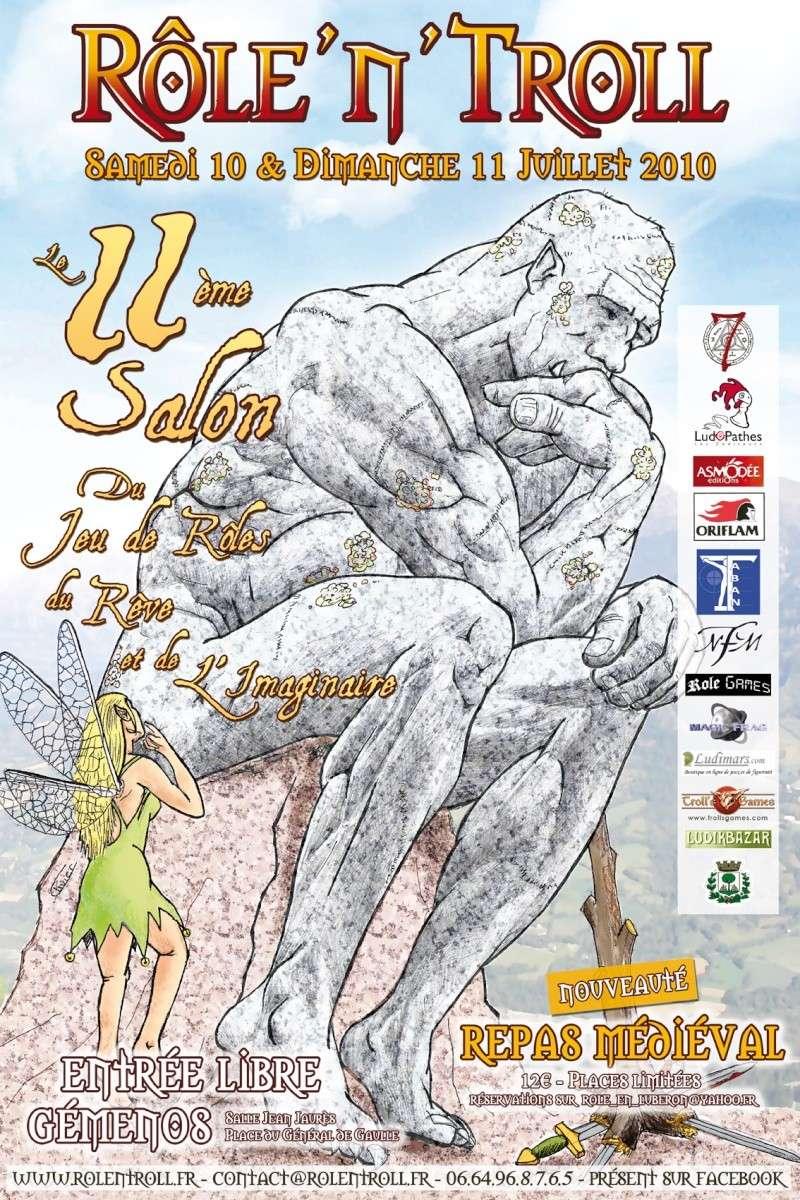 [Annonce officielle] 11e Salon du Jeu de Rôles, du Rêve et de l'Imaginaire Affich13
