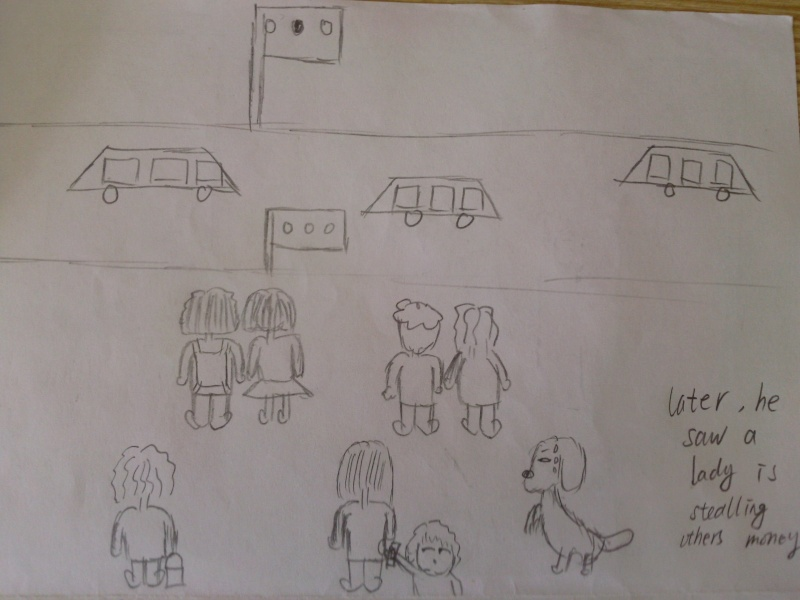 storyboard of the ad(small moive) Photo033