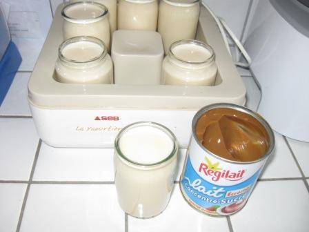 mes essaies yaourtes comfiture lait Img_0513