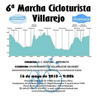 Marcha Cicloturista Villarejo de Salvanés 16-05-2010 Cartel12
