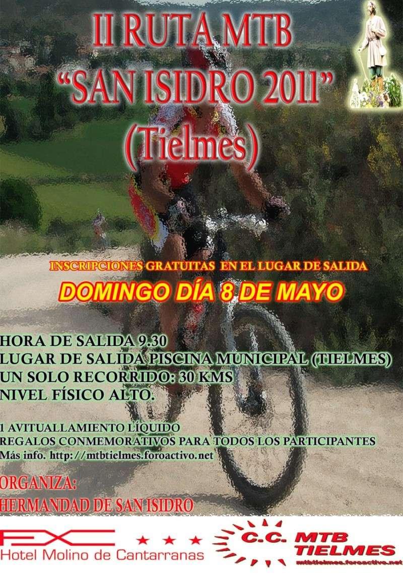 II Ruta de San Isidro 2011 Cartel14