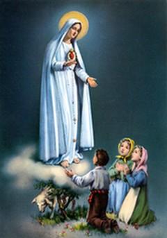 Les Images Pieuses ! - Page 3 Fatima11