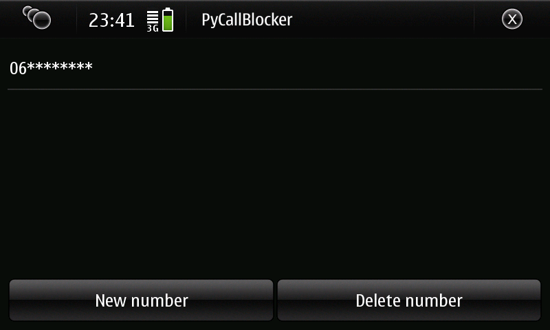 Pycallblocker Screen15