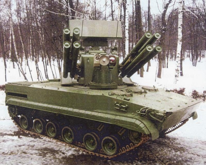 Tunguska gun/missile system replacement P84110