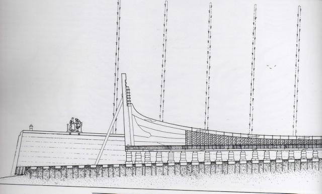 Installazioni di cantiere nell'epoca della marineria velica lignea. A_cant10