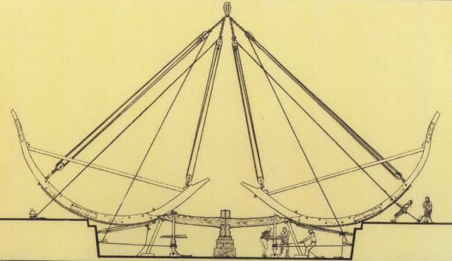 Installazioni di cantiere nell'epoca della marineria velica lignea. A_cant14