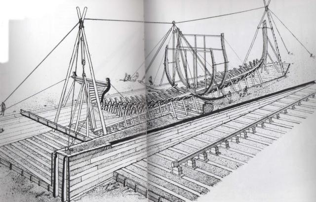 Installazioni di cantiere nell'epoca della marineria velica lignea. A_cant15