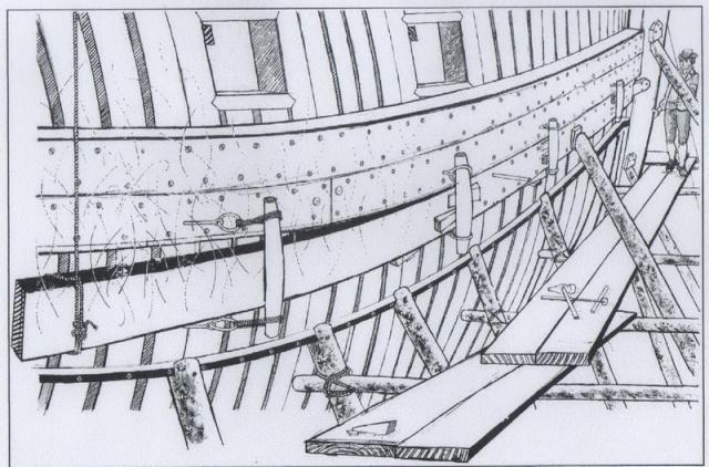 Installazioni di cantiere nell'epoca della marineria velica lignea. A_cant18