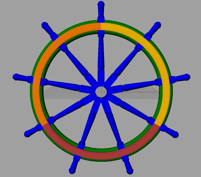 Le double roue du gouvernail A_ruot10